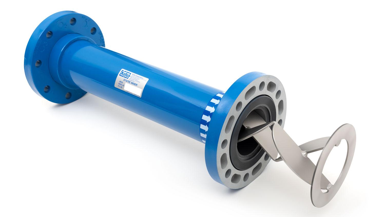 PVC Static Mixer - Custom PVC Mixer | Koflo Corporation