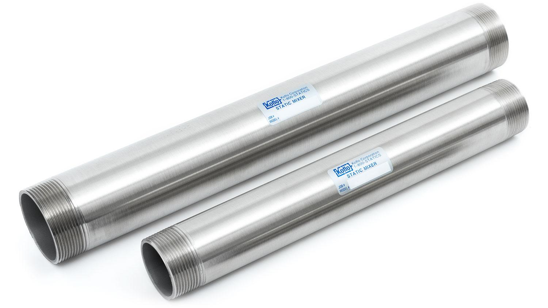 Custom stainless steel static mixer metal