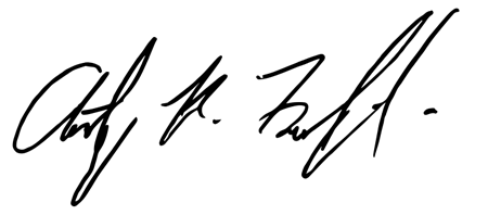 Tony Federighi Signature