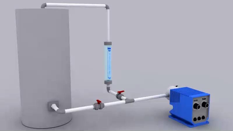 Koflo Calibration Column 100 mL capacity